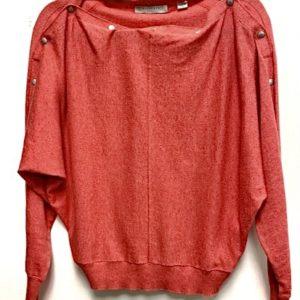 Thrift AllSaints Orange Sweater for sale